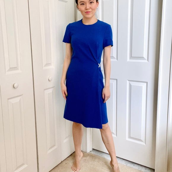 Hugo Boss Dresses Nwot Hugo Boss Royal Blue Dress Poshmark